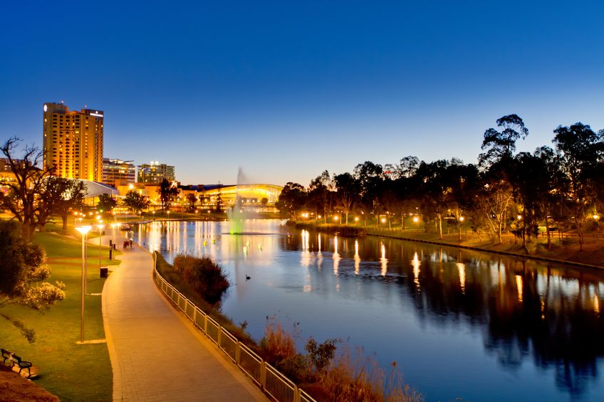 Adelaide River Torrens and Festival Centre