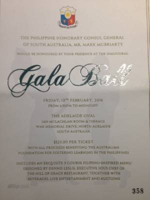 Celebrating Culture! The Philippine Honorary Consul General Inaugral Gala Ball
